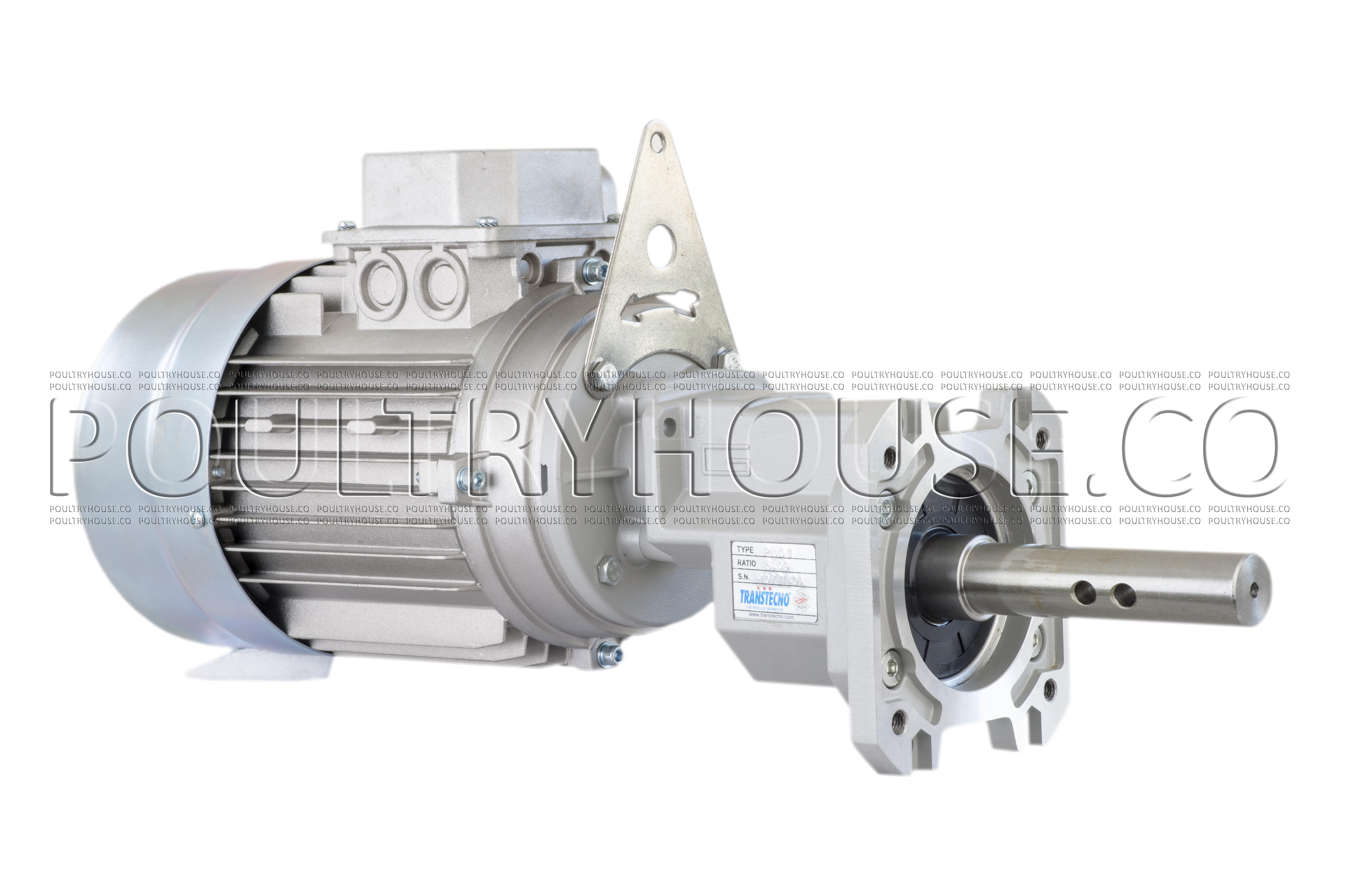 موتور گیربکس دانخوری ترنس تکنو ایتالیا